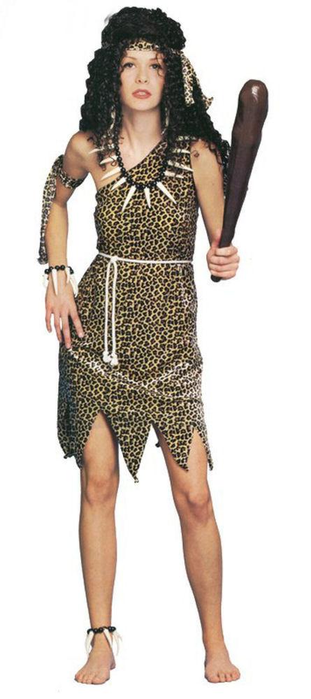 Luxury CAVE MAN TARZAN CAVE WOMAN JUNGLE JANE ANIMAL PRINT FANCY
