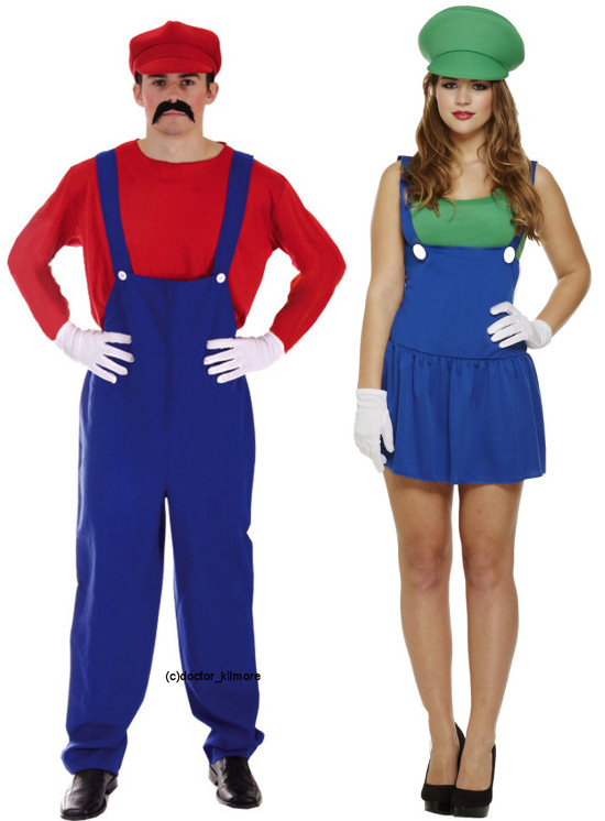 90s 80s Couples Costumes